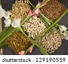 Assorted Group of Dry Fruit - stock photo