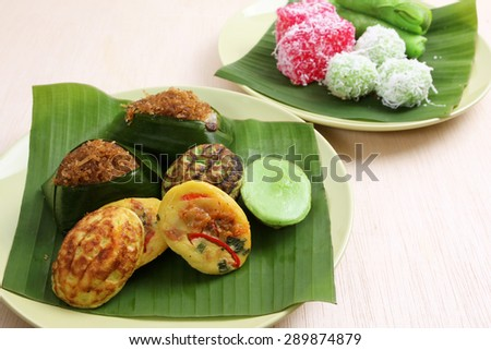 Assorted Malaysian Kuih pastry