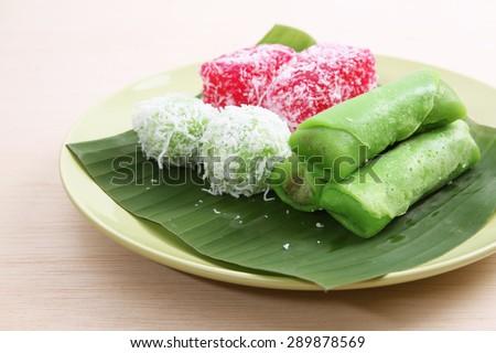 kuih malaysian assorted pastry onde sagu shutterstock kueh