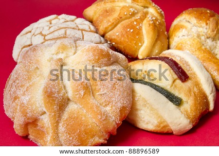 Assorted Mexican Traditional Bread