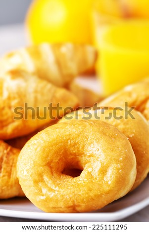 Assorted pastries - stock photo