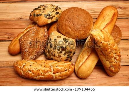 Assorted Rolls and Bread