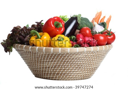 Assorted Vegetables - stock photo