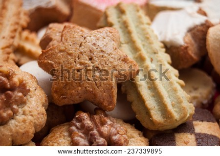 assortment of French bakery - stock photo