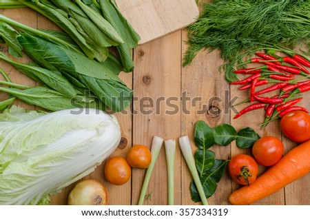 Assortment of fresh colorful organic vegetables close up