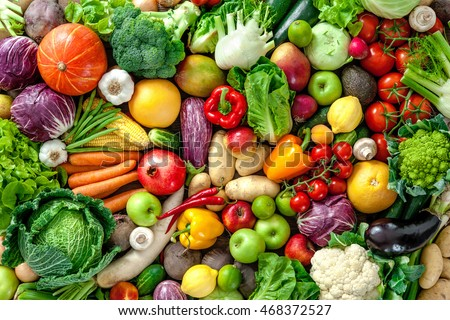 Assortment fresh fruits vegetables stock photo royalty free assortment of fresh fruits and vegetables thecheapjerseys Images