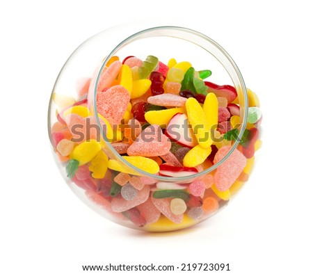 assortment of jelly candies