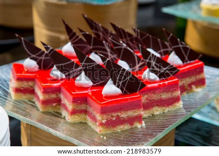 assortment of sweets,Thailand - stock photo