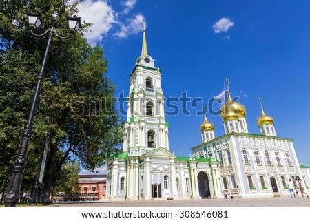 Assumption Cathedral Tula Kremlin - stock photo