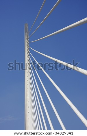 Assut de l'or bridge. Valencia, spain.