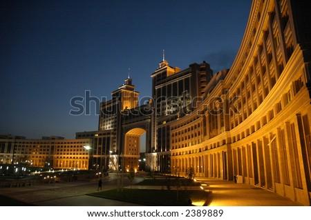 Astana kazakhstan - stock photo