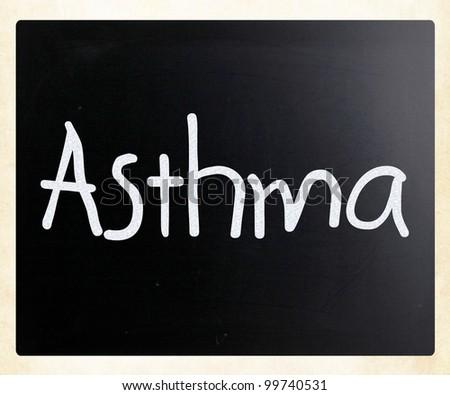 Asthma - stock photo