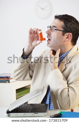 Asthma Treatment, Man