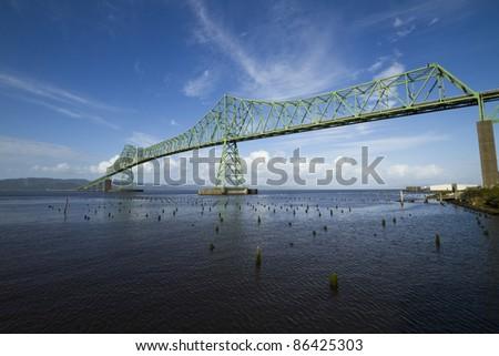Astoria Bridge - stock photo