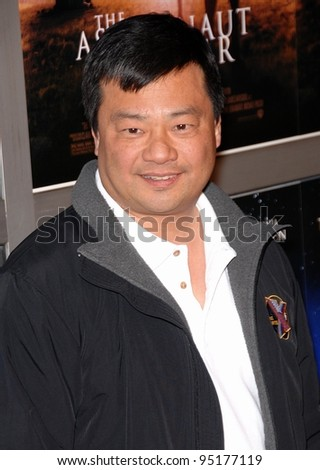 Astronaut Leroy Chiao poses for the cameras on the red carpet for the world premiere of The Astronaut Farmer.  February 20, 2007  Los Angeles, CA Picture: Paul Smith / Featureflash
