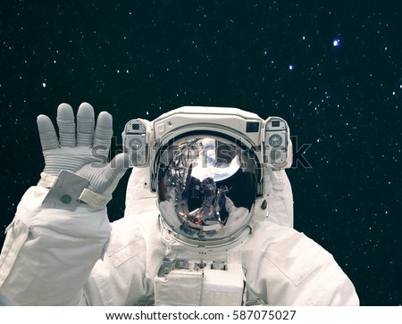 astronaut in deep space - photo #17