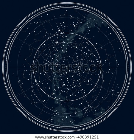 Star Chart Free: Star Map Stock Images Royalty-Free Images 6 Vectors | Shutterstock,Chart