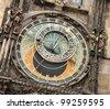 Astronomical clock in Prague. Czech Republic - stock photo