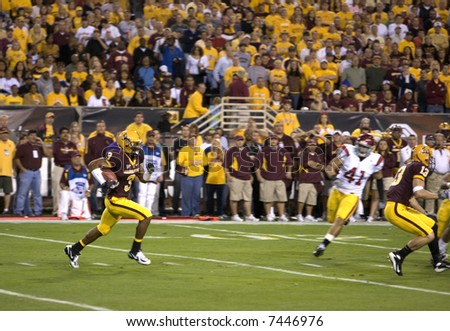 ASU vs USC football on Thanksgiving Night