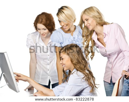 at office - stock photo