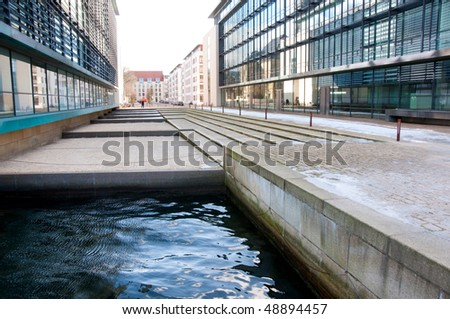 At the financial district in Copenhagen, Denmark - stock photo