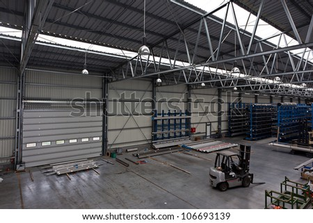 At warehouse preparing goods delivery - stock photo