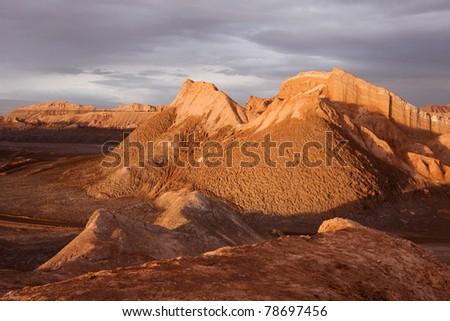 Atacama desert - stock photo
