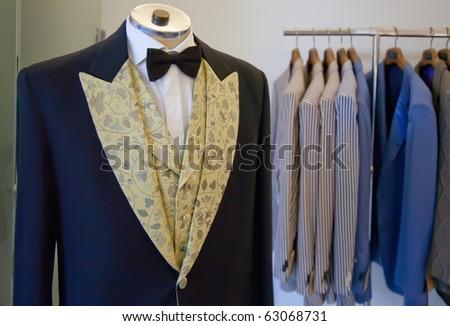 atelier of man dress - stock photo