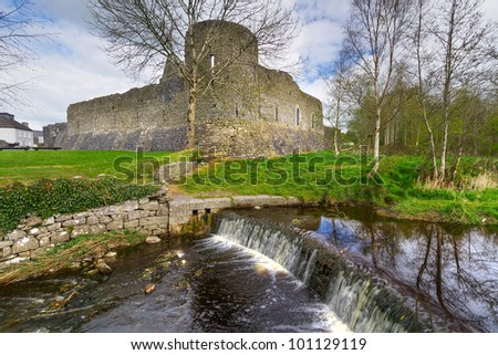 Athenry Castle  in Co. Galway, Ireland