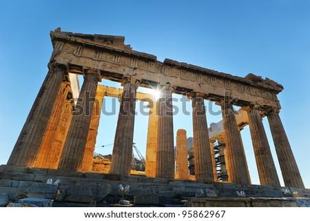 Athens - Parthenon - stock photo