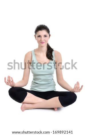Athletic girl                              - stock photo