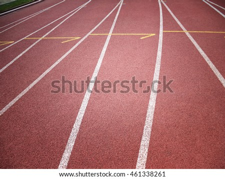 Athletic track, detail, background, texture