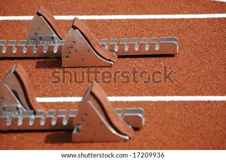 Athletics - stock photo