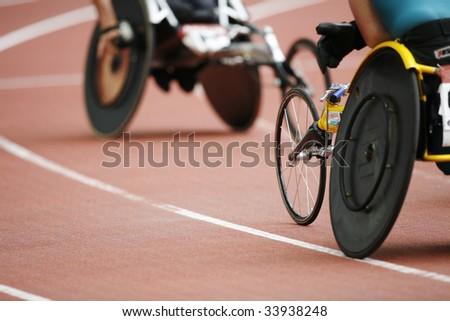 Athletisme handisport - stock photo