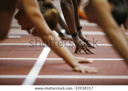 Athletisme *** Local Caption *** - stock photo