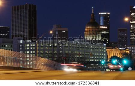 Atlanta Capital - stock photo