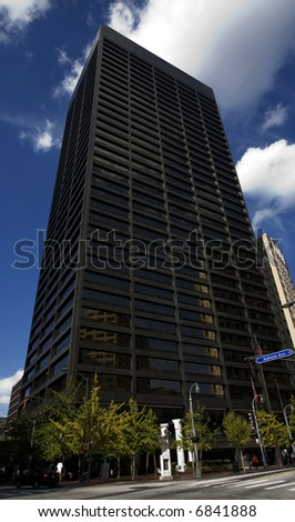 Atlanta Georgia Business Skyscrapers Downtown Buildings - stock photo