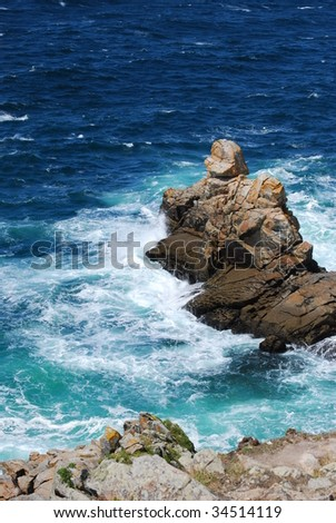 Atlantic coast - stock photo