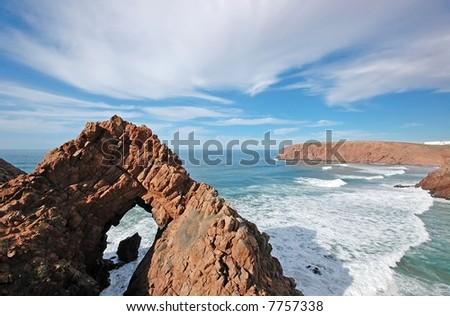 Atlantic coast. Africa. Morocco. - stock photo