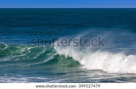 Atlantic Ocean and Waves.