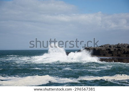 Atlantic wave - Doolin, Clare, Irland