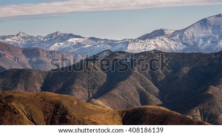 Atlas Mountains - stock photo