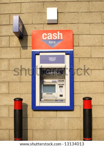 ATM Cash Dispenser - stock photo