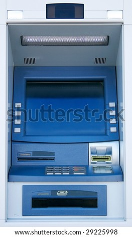 atm machine - stock photo