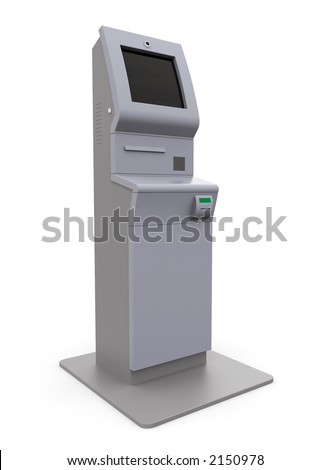 atm machine - solo - stock photo