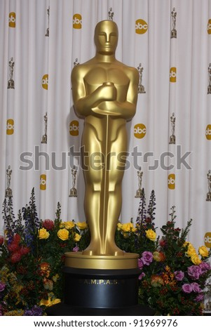 Atmosphere at the 83rd Annual Academy Awards Press Room, Kodak Theater, Hollywood, CA. 02-27-11 - stock photo
