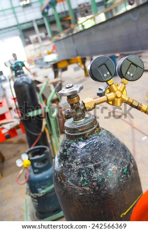 atmosphere in the construction, installation and safety of crane Industry. - stock photo
