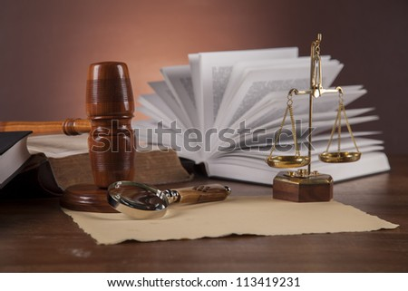 Atmospheric composition with law and justice stuff