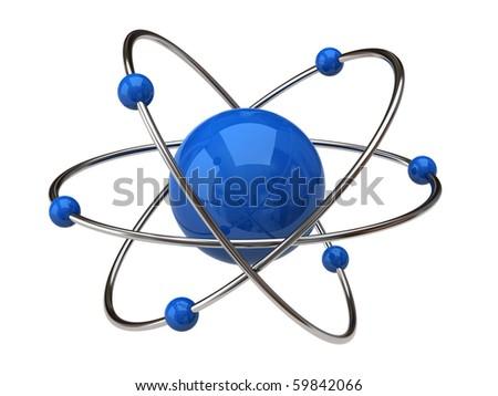 Atom - stock photo