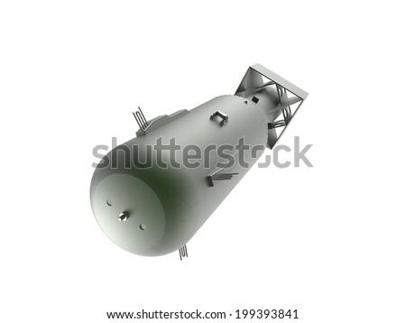 Atom bomb - stock photo